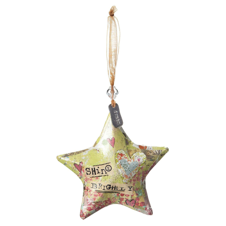 Shine Brightly Star Ornament
