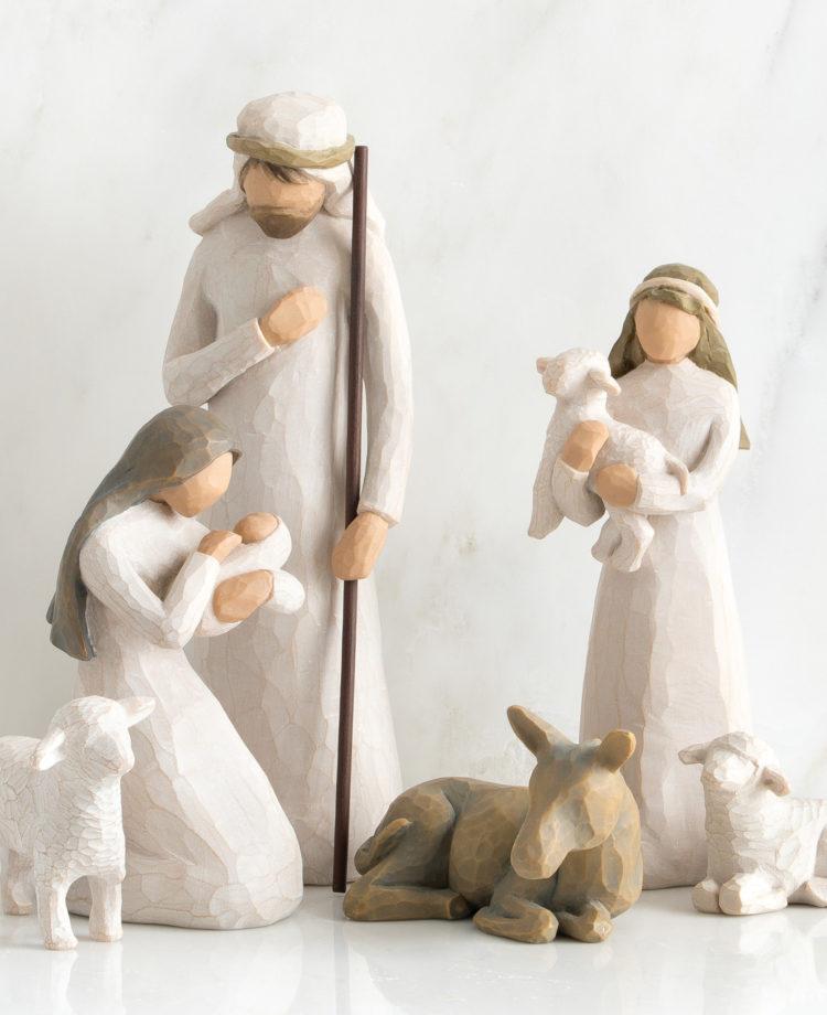 Willow Tree - Julekrybbe - Nativity